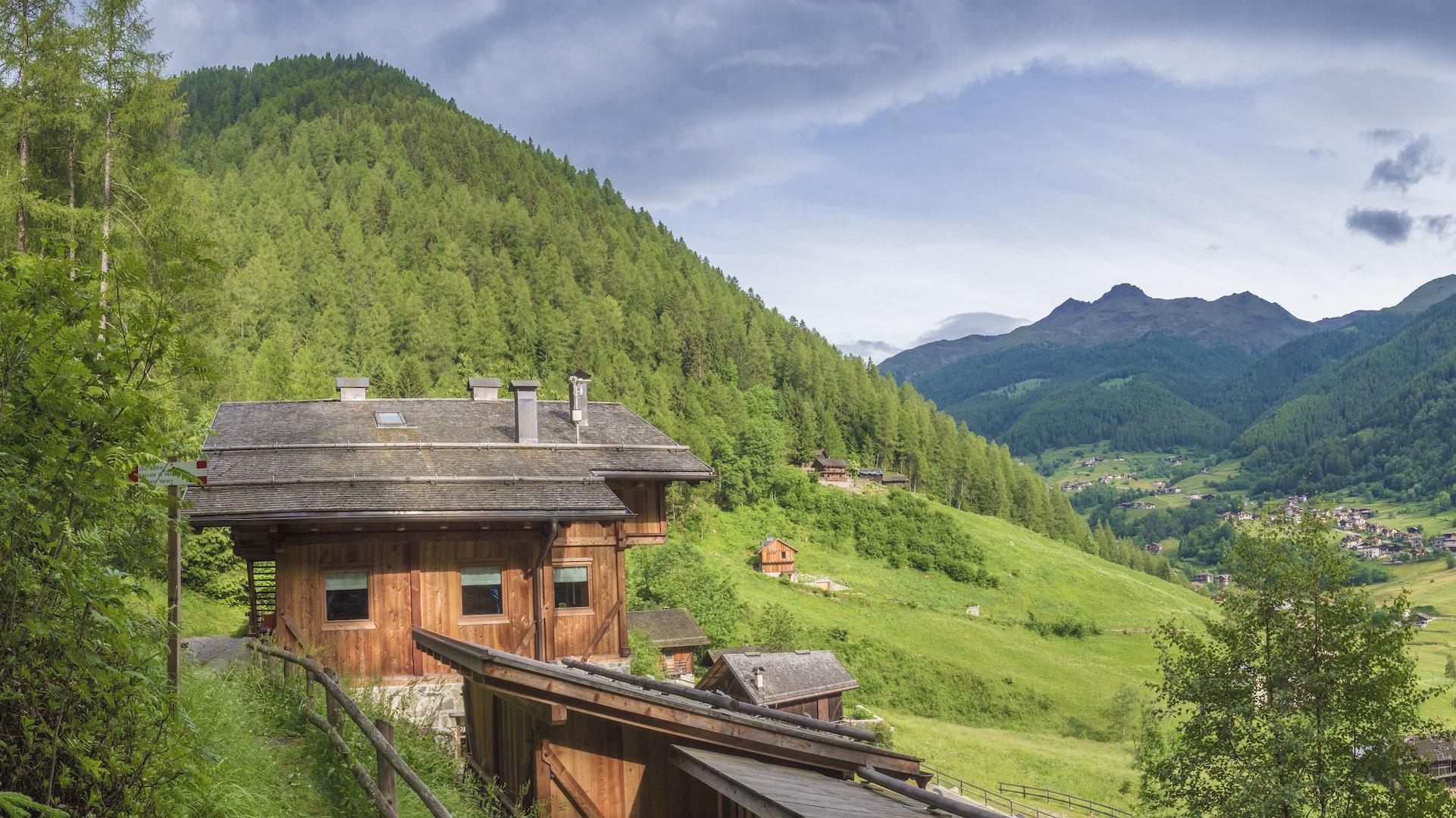 Mas de la Bop, Val di Rabbi, Trentino
